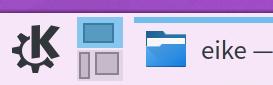 Plasma Pager widget